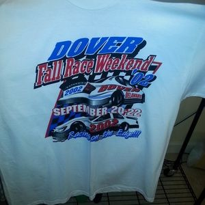 Vintage Nascar shirt-  Dover..double sided